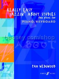 Really Easy Jazzin' About Studies (Piano)