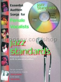 Essential Audition Songs Jazz Standards Female Vocalists (Book & CD)