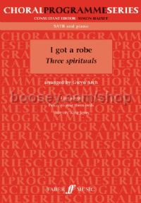 I Got A Robe: Three Jazz Spirituals (SATB & Piano)