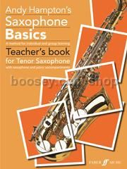 Saxophone Basics - Teacher's Book for Tenor Saxophone