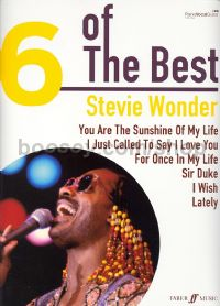 6 of the Best: Stevie Wonder (Piano, Voice & Guitar)