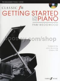 Classic FM: Getting Started On The Piano (Book & CD)
