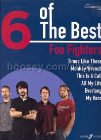 6 of the Best: Foo Fighters (Voice & Guitar Tablature)