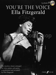 You're The Voice: Ella Fitzgerald (Piano, Voice & Guitar)