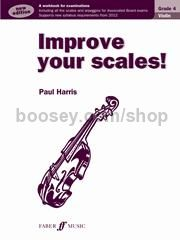 Improve Your Scales! - Violin Grade 4
