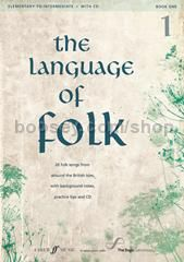 The Language of Folk, Book I - Elementary to Intermediate (Voice)