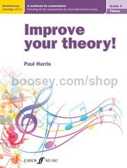 Improve Your Theory! - ABRSM Grade 4 (Book)