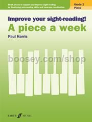 Improve Your Sight Reading! A Piece a Week - Piano Grade 2