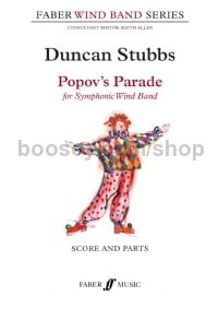 Popov's Parade (Symphonic Wind band Score & Parts)