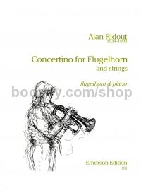 Concertino for Flugelhorn - flugelhorn & piano