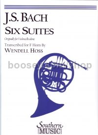 Six Suites for Cello arr. Hoss