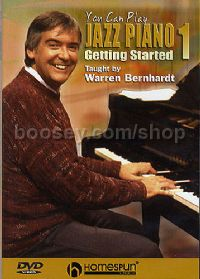 You Can Play Jazz Piano 1: Getting Started (DVD)