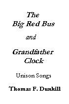 Grandfather Clock/Big Red Bus Unis