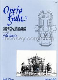 Opera Gala, Book 3 for organ