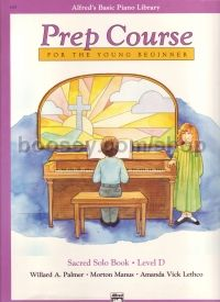 Alfred Basic Prep Sacred Solo Book Level D Piano