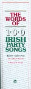 Words Of 100 Irish Party Songs