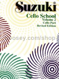 Suzuki Cello School Vol.2 (revised edition)