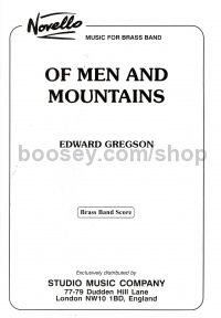 Of Men And Mountains (Brass Band) (Score)