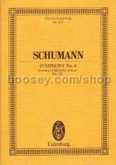Symphony No.4 in D Minor, Op.120 (Orchestra) (Study Score)