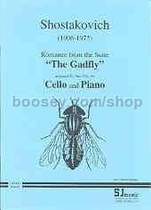 "Romance (from ""The Gadfly Op 97"") arr. cello & piano"