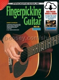 Progressive Fingerpicking Guitar (Book & CD)