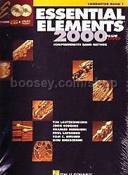 Essential Elements 2000 Book 1 Conductor's score (Bk & CD/DVD)