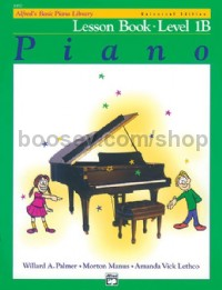 Alfred Basic Piano Lesson Level 1b