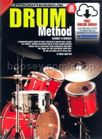Progressive Drum Method (Book & CD)