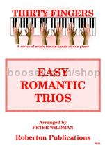 Thirty Fingers: Easy Romantic Trios for piano 6-hands (CD)