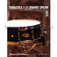 Ted Atkatz: Tributes for Snare Drum
