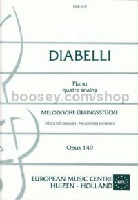 Melodious Exercises Op. 149 Piano Duet