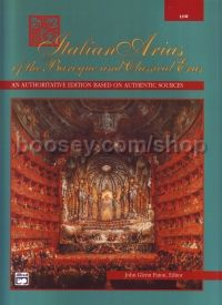 Italian Arias of the Baroque and Classical Eras (Low Voice)