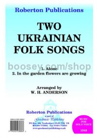 Two Ukrainian Folk Songs for voice & piano