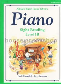 Alfred Basic Piano Sight Reading Level 1b