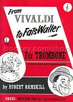 From Vivaldi To Fats Waller - Treble Clef Trombone & Piano