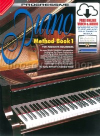 Progressive Piano Method Book 1 (Book & CD)