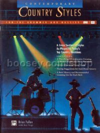 Contemporary Country Styles Drums/Bass (Book Only)
