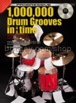 Progressive 1000000 Drum Grooves In 4/4 Time (Book & CD)