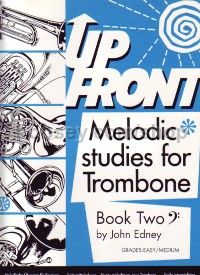 Up Front Melodic Studies for Trombone Book 2 (Bass Clef)