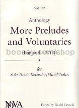 More Preludes & voluntaries (England C.