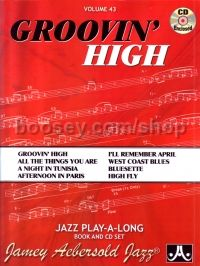 Groovin High vol.43 (Jamey Aebersold Jazz Play-along)