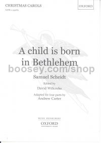 Child Is Born In Bethlehem SATB +SATB