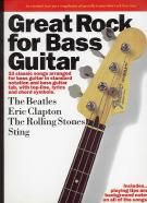 Great Rock For Bass Guitar (Guitar Tablature)
