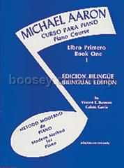 Piano Course Book 1 (Spanish Edition) (Michael Aaron Piano Course series)