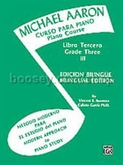 Piano Course Book 3 (Spanish Edition) (Michael Aaron Piano Course series)