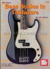 Bass Scales In (Guitar Tablature)