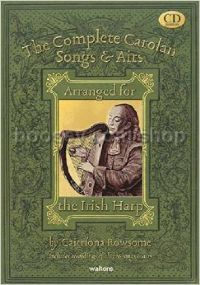 The Complete Carolan Songs & Airs Arranged for Irish Harp (+ 4 CDs)