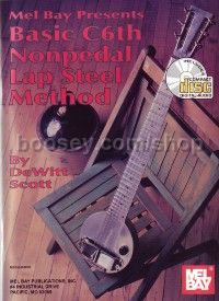 Basic C6th Non Pedal Lap Steel Method (Book & CD)