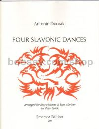 4 Slavonic Dances For 4 Cls & Optional B