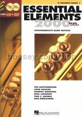 Essential Elements 2000 Book 1 Trumpet (Bk & CD/DVD)